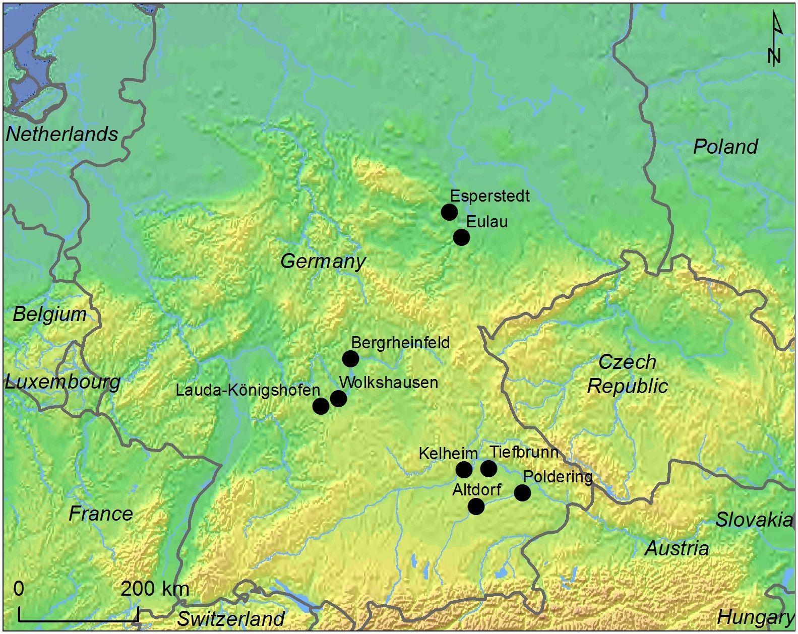 """""""Frauenwanderung""""/ Landkarte"""