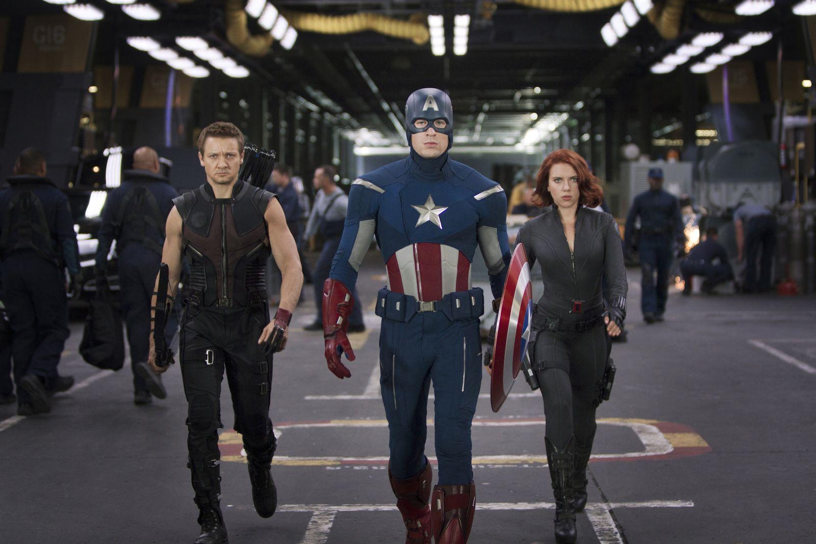 EINMALIGE VERWENDUNG Marvels/ The Avengers VID