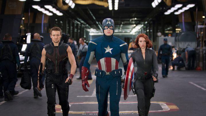 """Marvel-Film """"The Avengers"""": Scarlett im Catsuit"""