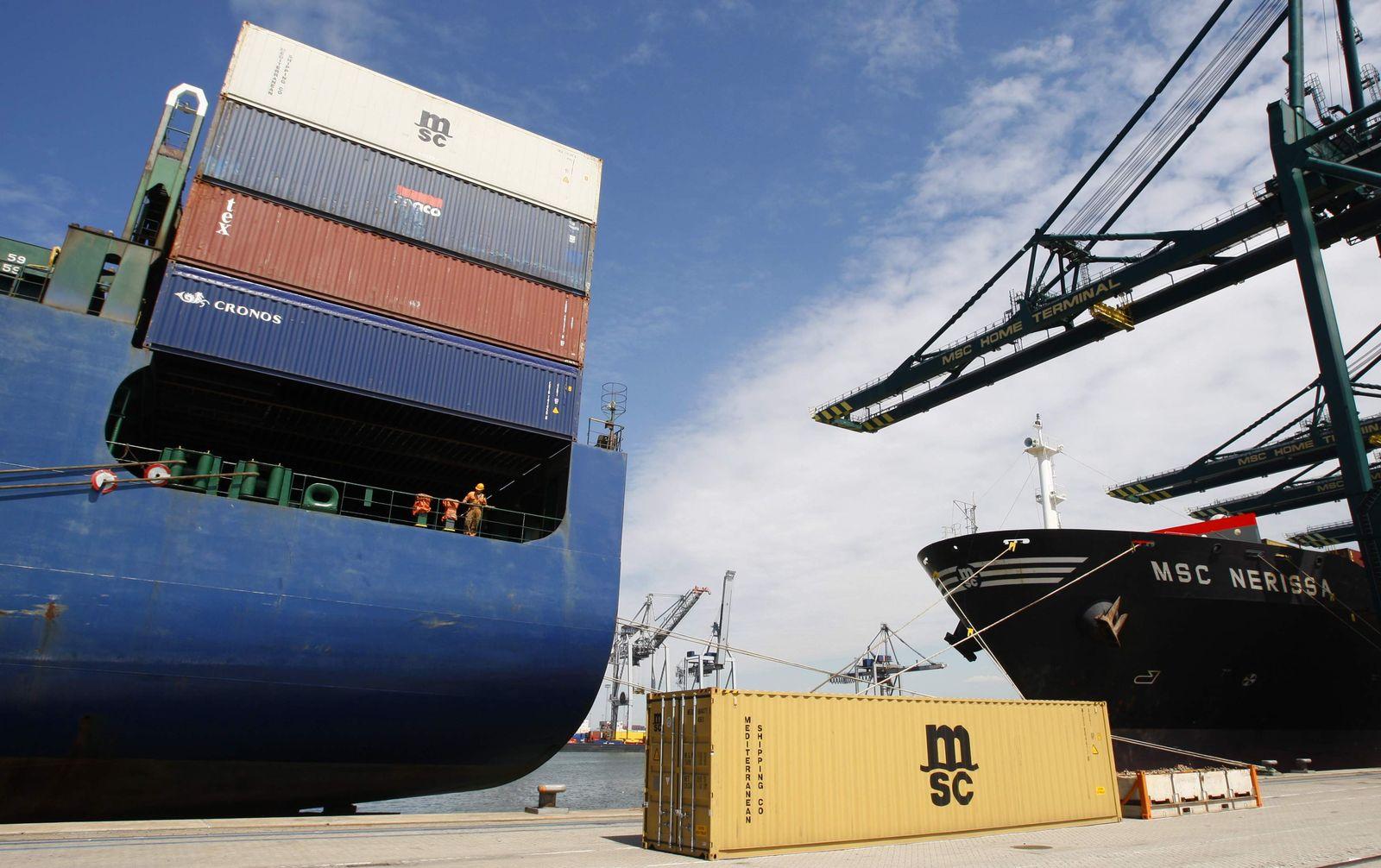 Konjunktur/ Hafen Rotterdam