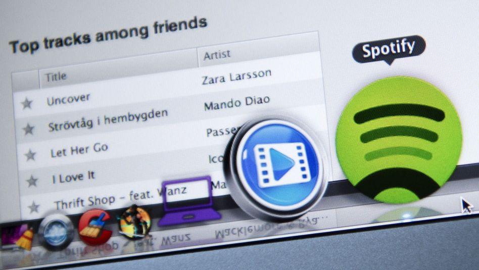 Spotify-Logo: Die meisten Nutzer nutzen die Kostenlos-Variante mit Werbung