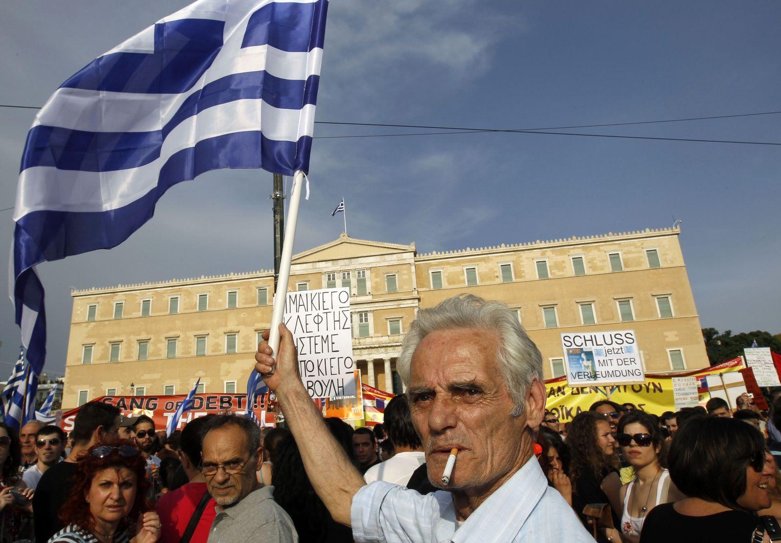 Griechenland/ Finanzkrise/ Proteste