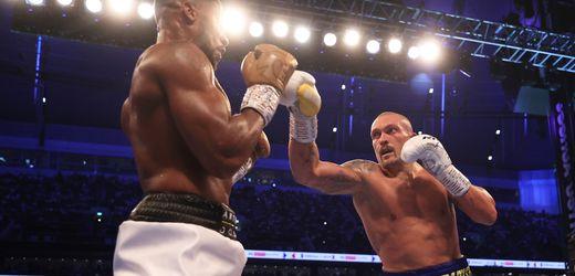 Boxen: Anthony Joshua verliert gegen Oleksandr Usyk