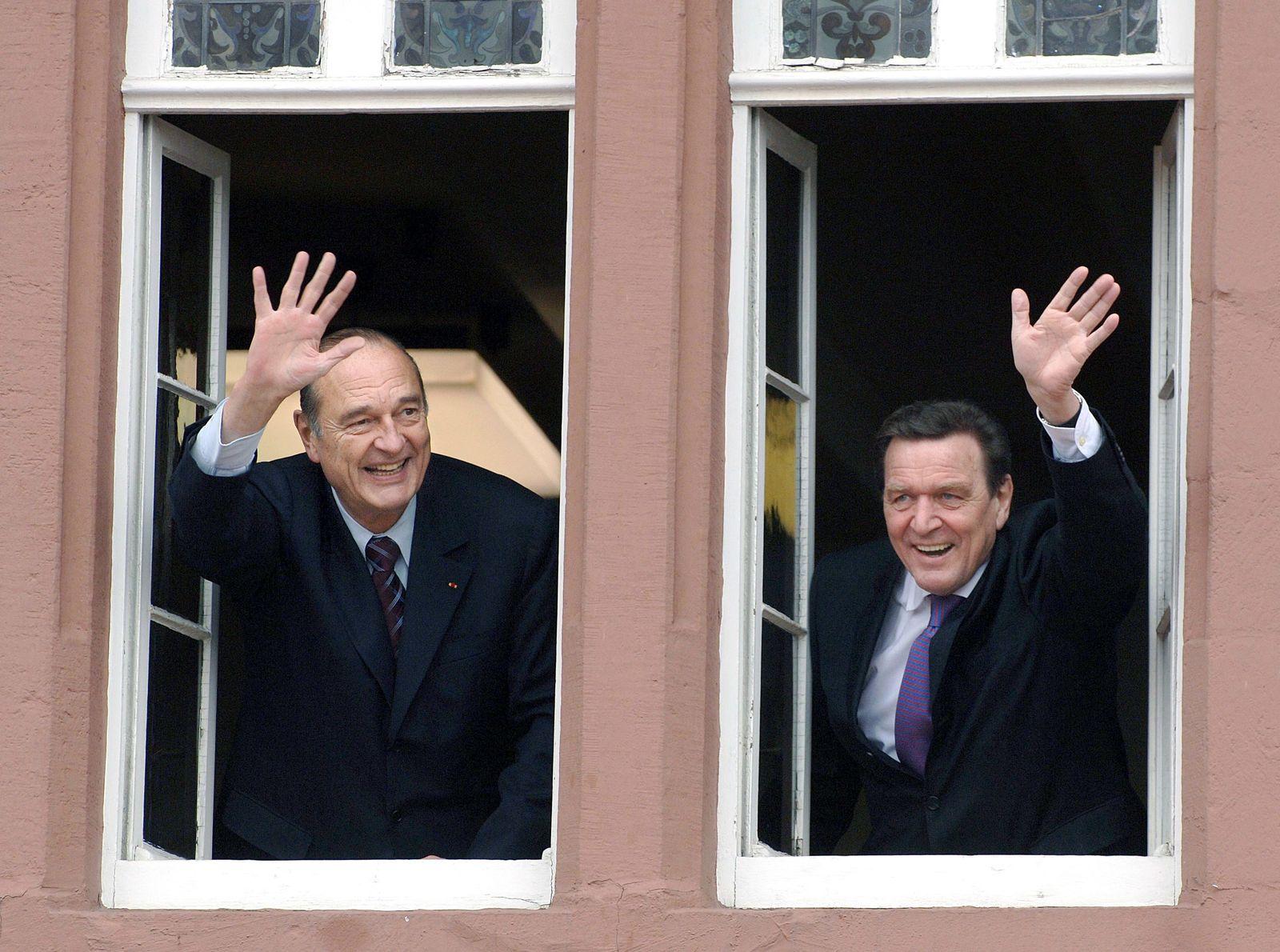 Jacques Chirac / Gerhard Schröder