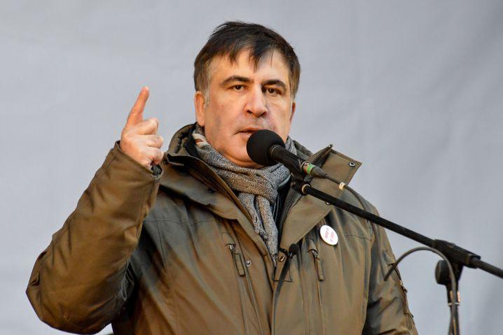 Micheil Saakaschwili (Archivbild Ende 2017)