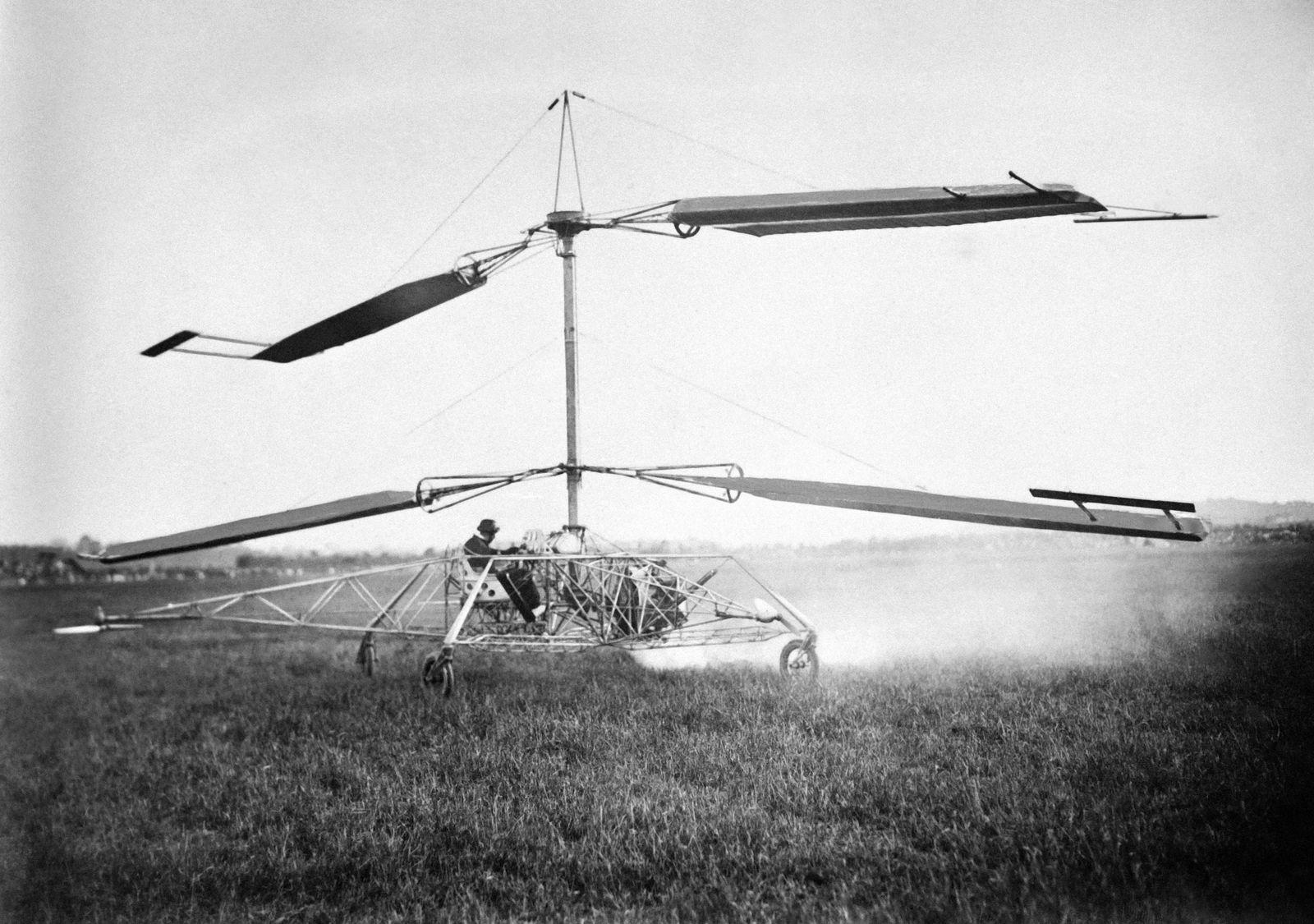 Vol D'Essai D'Un Hélicoptère