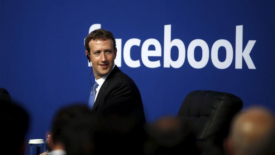 Facebook-Chef Zuckerberg: Unterstützung für Apple