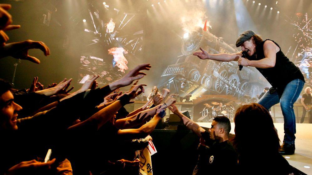 AC/DC-Nachricht: Malcolm Young muss pausieren