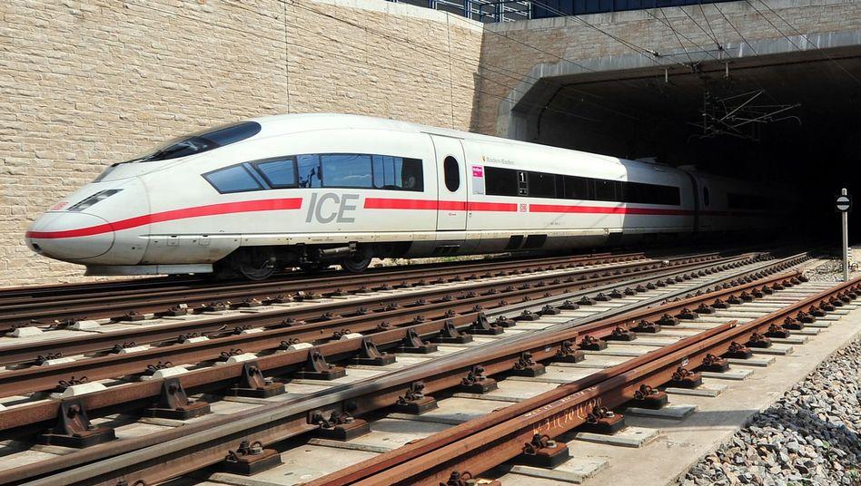 ICE der Deutschen Bahn: Die Klimaanlage bereitet bei Hitze Probleme