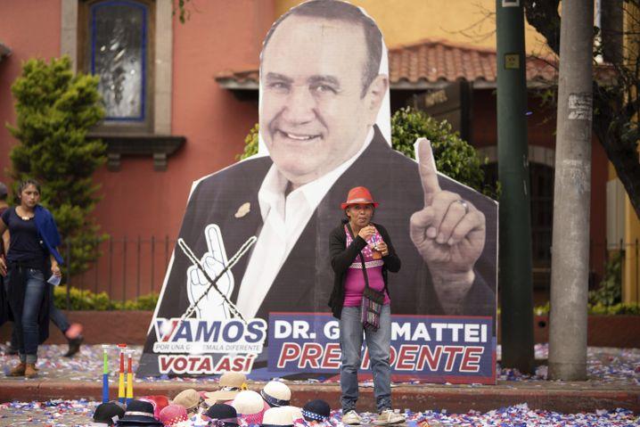 Alejandro Giammattei war früher Gefängnisdirektor, nun will er Präsident Guatemalas werden