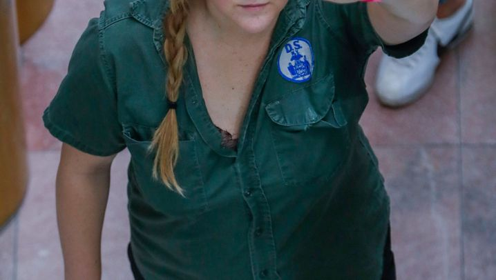 """Amy Schumer bei Protest gegen Kavanaugh: """"Uns kriegen sie nicht klein"""""""