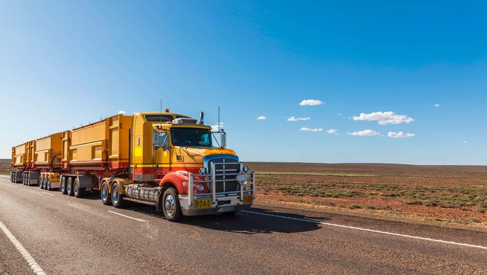 Lkw in Australien: Künftig auch elektrisch (Symbolbild)