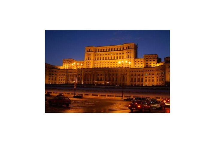 """Nicolae Ceaucescus """"Palast des Volkes"""""""