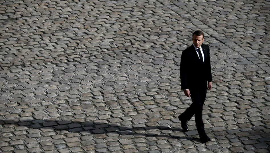 Macron Ende September in Paris: Seine Vision leuchtet nicht mehr