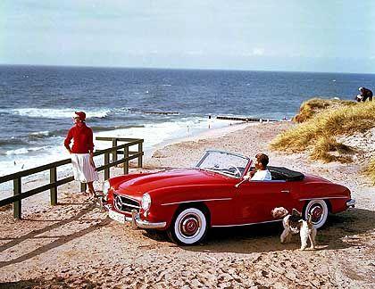 Mercedes 190 SL: Statussymbol und Lifestyle