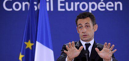 French President Nicolas Sarkozy wants the EU to slow down.