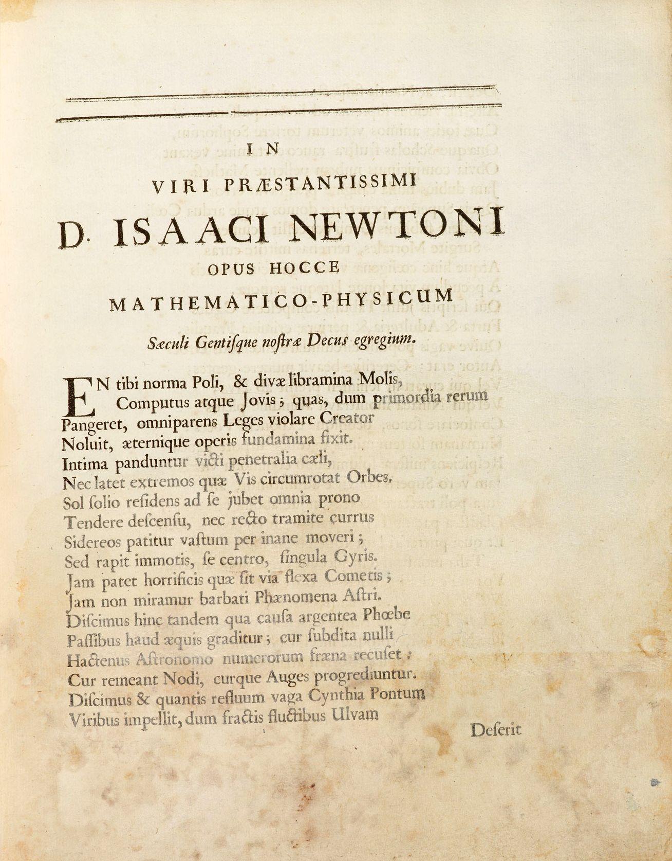 BUCH Newton / Philosophia naturalis / NETZWELT