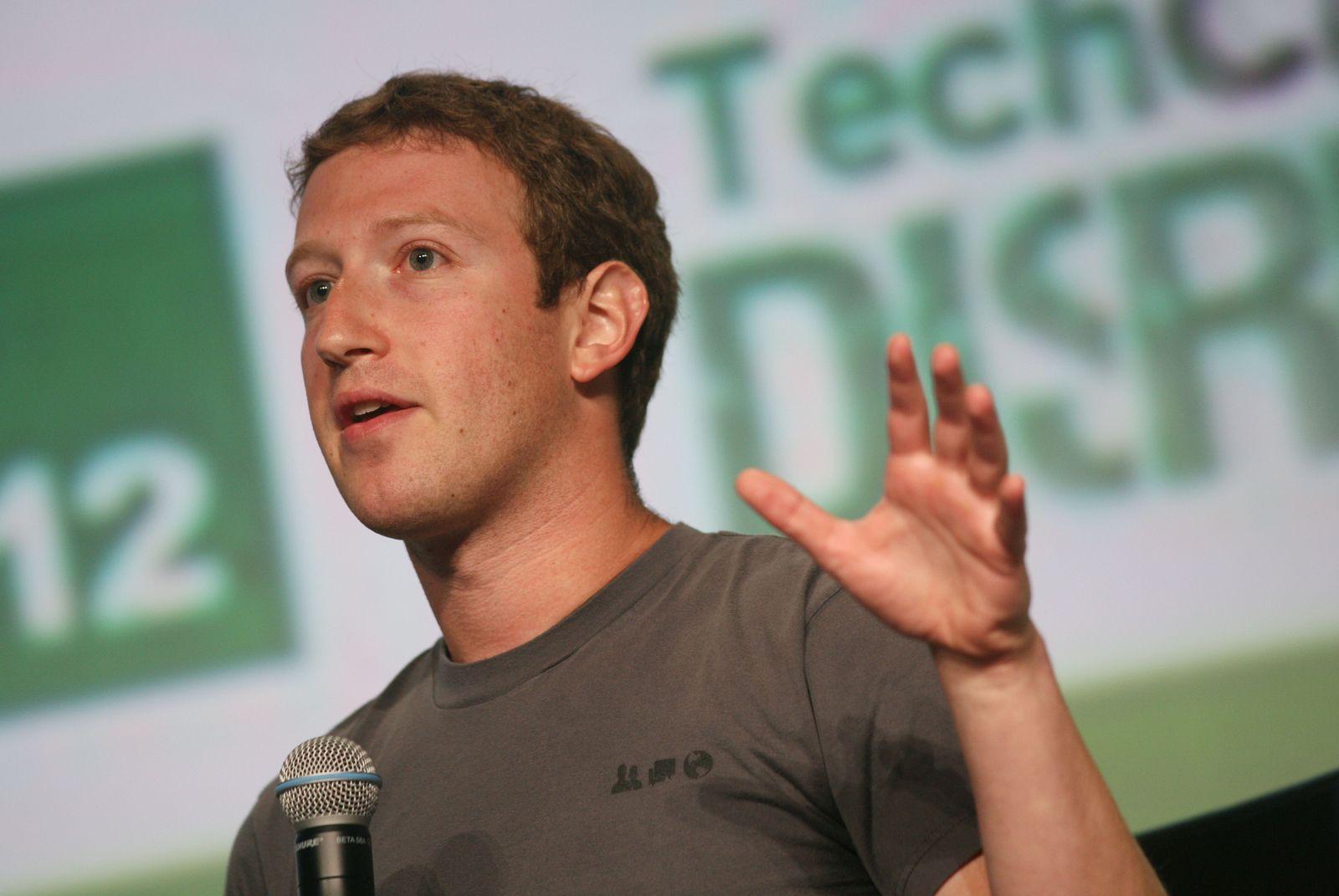 Zuckerberg / Facebook / Techcrunch Disrupt