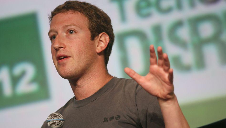 """Facebook-Gründer Zuckerberg: """"Viele coole Sachen"""""""