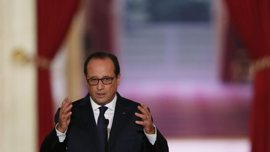 Präsident Hollande: Frankreich unterstützt Kampf gegen IS