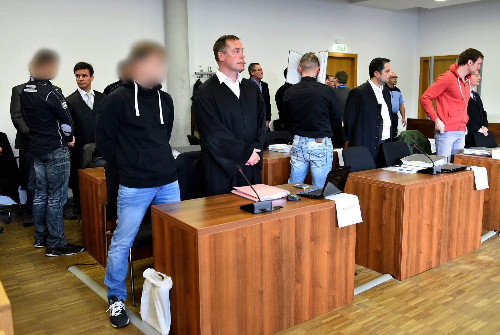 Prozess Brandstiftung Nauen / Angeklagte