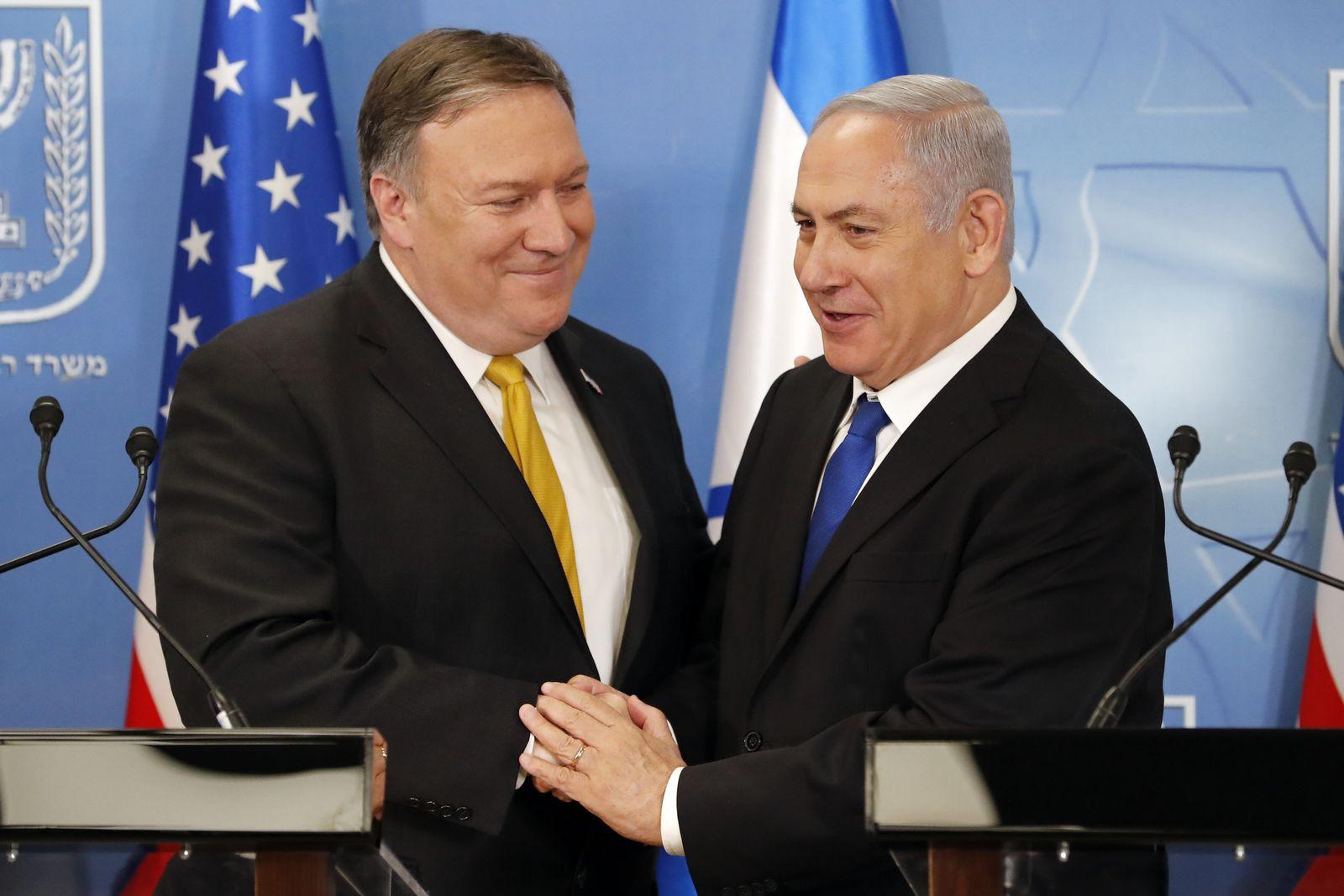 Benjamin Netanyahu Mike Pompeo