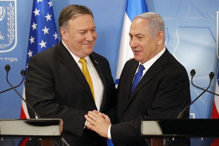 Pompeo und Netanyahu in Tel Aviv