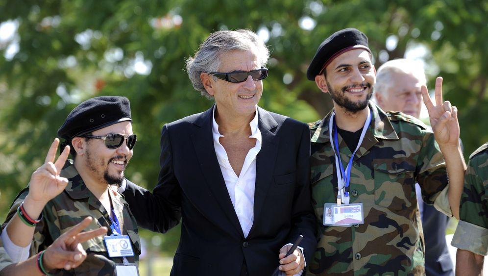 Photo Gallery: Philosopher BHL's Role in Libya
