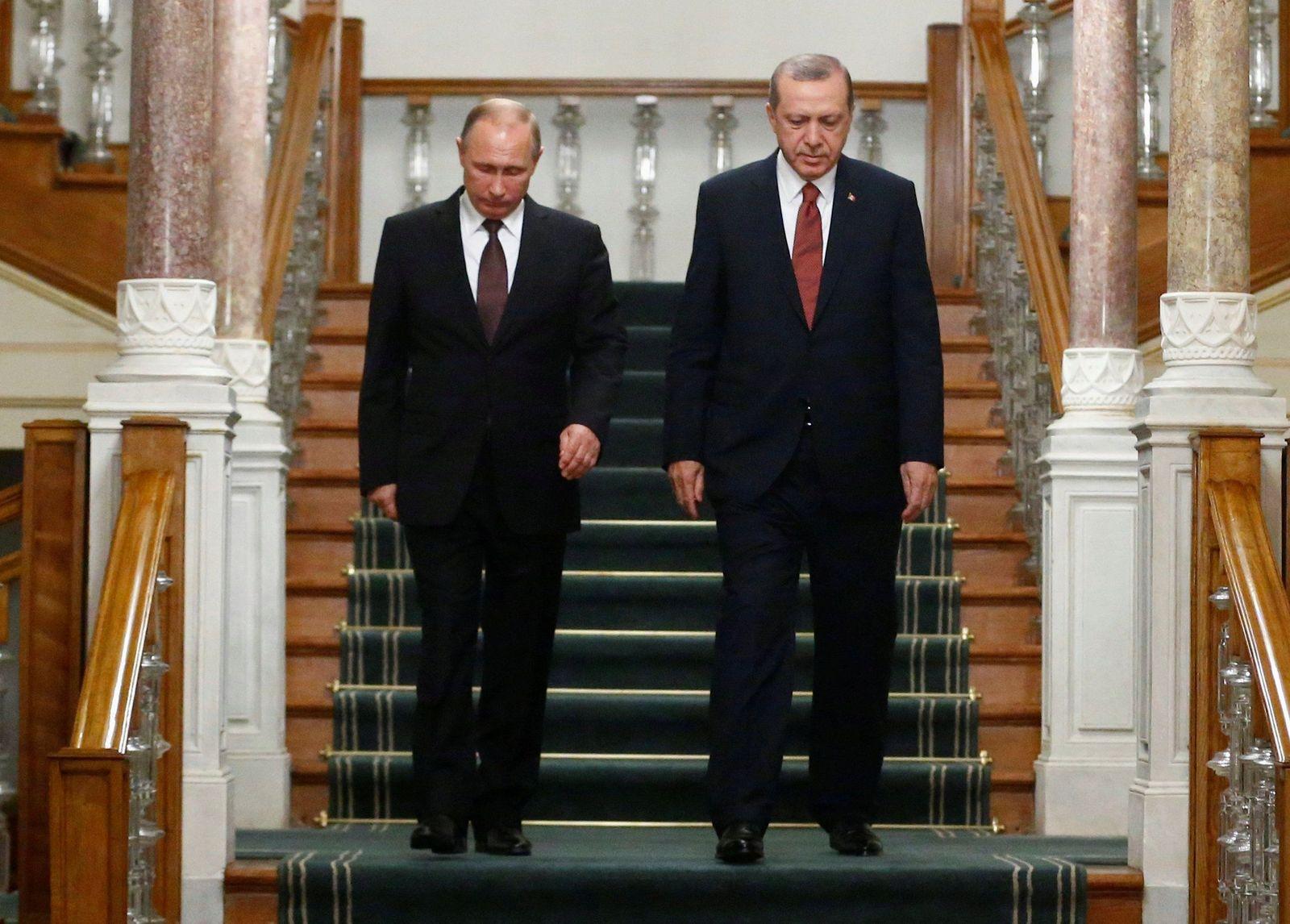 Wladimir Putin / Recep Tayyip Erdogan