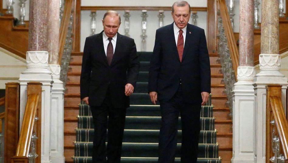 Putin und Erdogan in Istanbul (Oktober 2016)