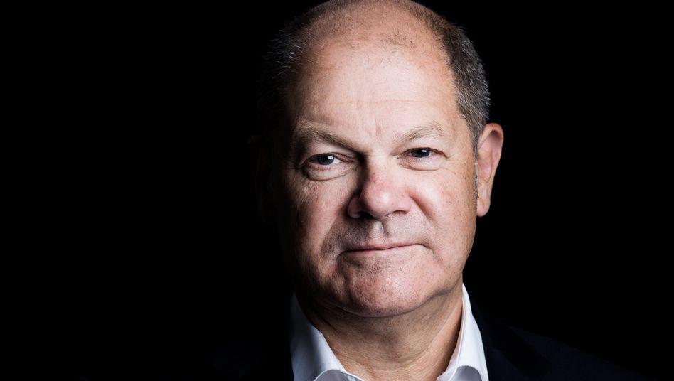 SPD-Politiker Scholz:Programm auf drei Säulen