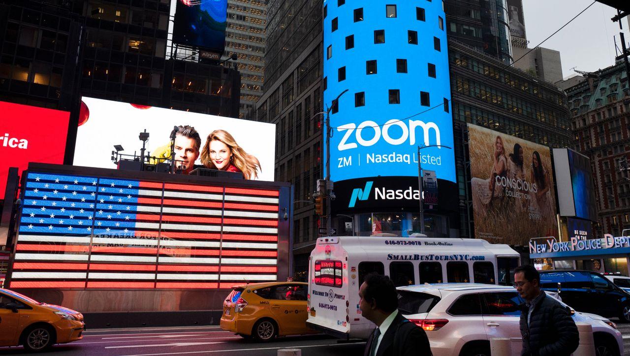 Zoom: Aktie von Videodienst fällt, obwohl das Unternehmen explosiv wächst