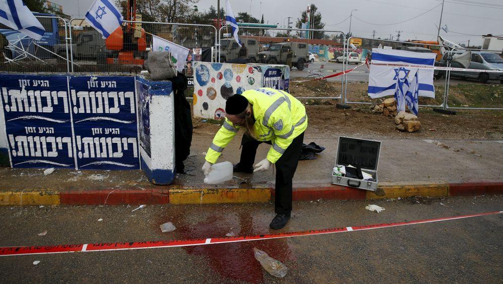 Israel: Blutiger Angriff an der Kreuzung