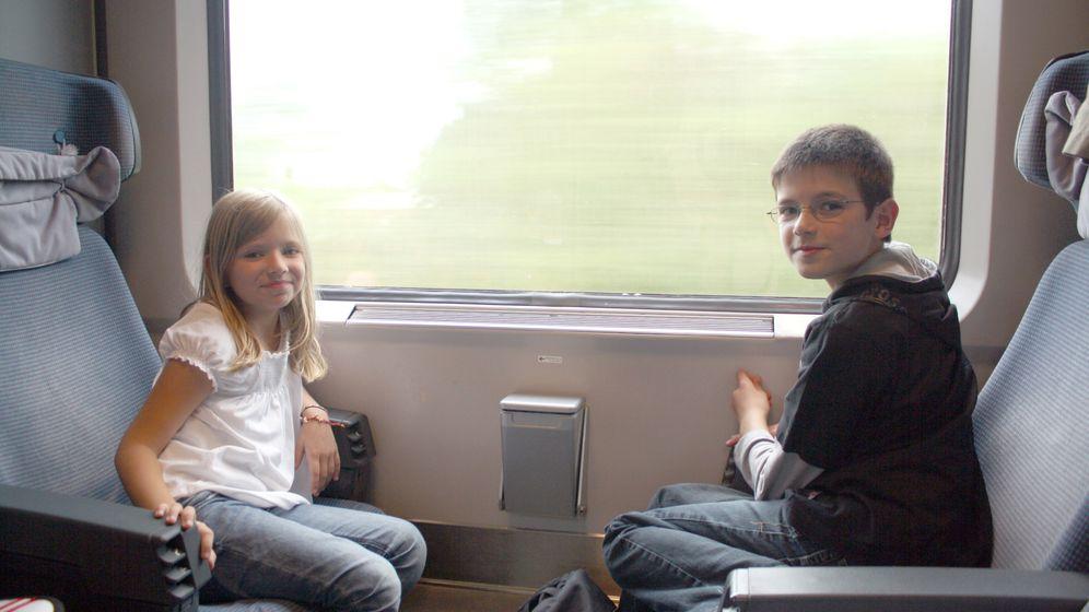 Kids on Tour: Pendeln zwischen Papa und Mama