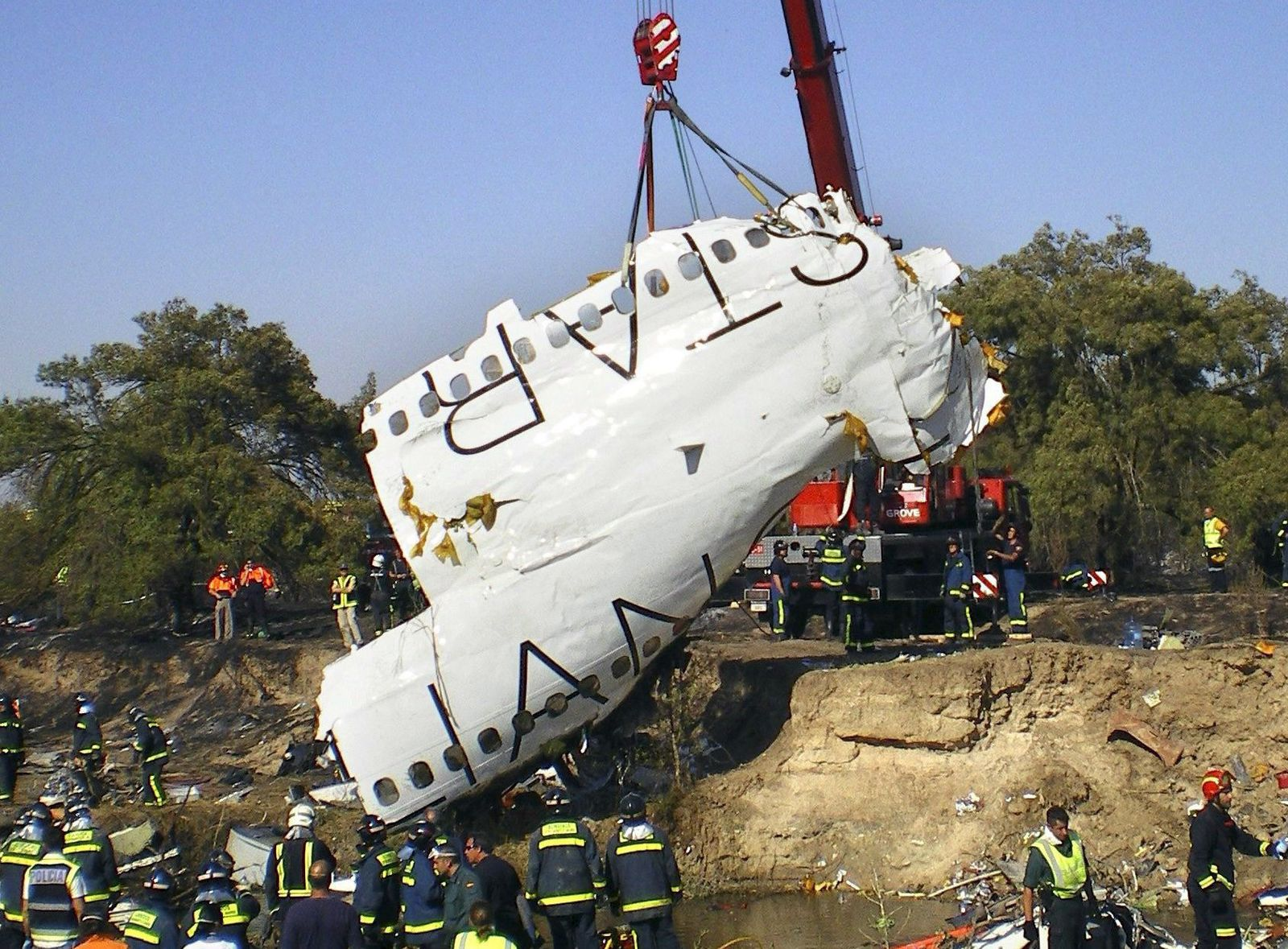 Spanien / Flugzeugabsturz