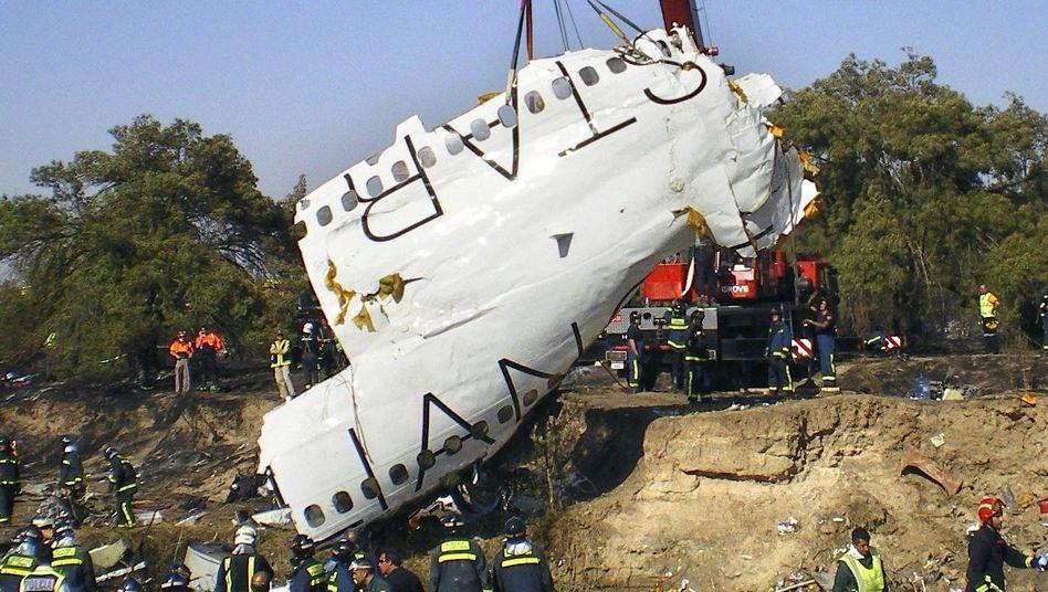 Wrackteil der abgestürzten MD-82: Ist ein Computerschädling mitschuld am Absturz?