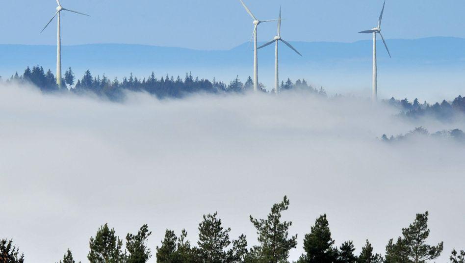 Windräder im Schwarzwald: Extreme Belastung für das Stromnetz