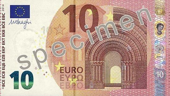 Zehn-Euro-Schein: So sieht der neue Zehner aus