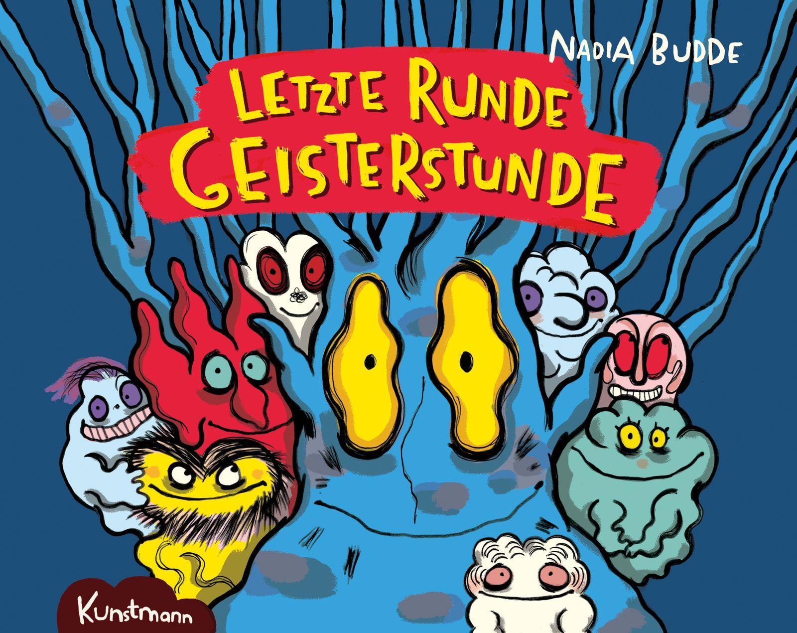 Kinderbücher/ Nadia Budde: Letzte Runde - Geisterstunde COVER