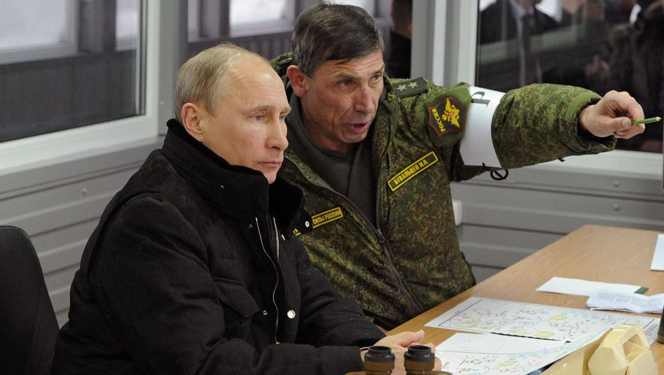 Putin (l.): Kann man dem Kremlchef trauen?