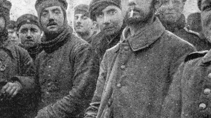 Weihnachten 1914: Ein bisschen Frieden mitten im Gemetzel