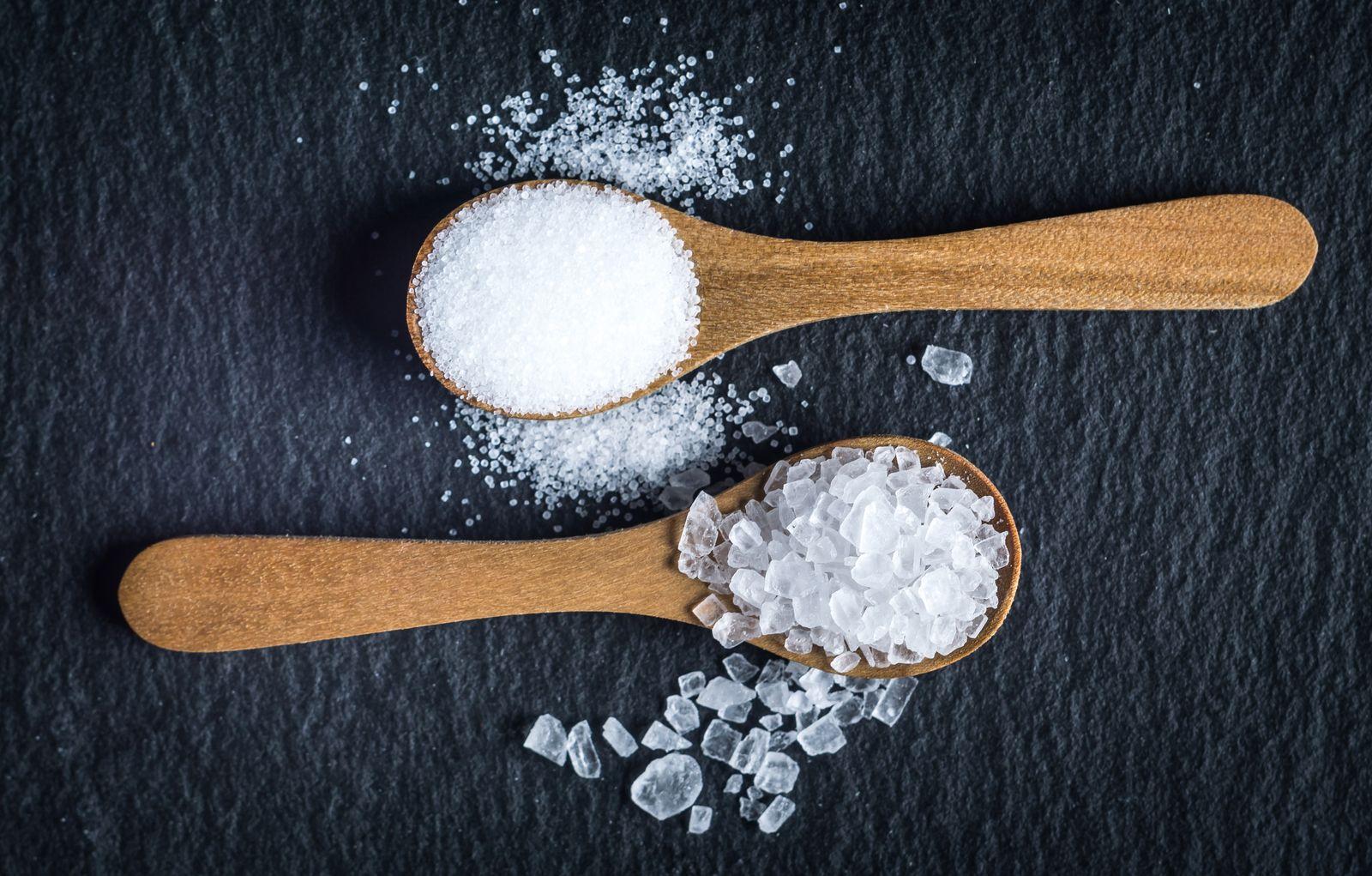 EINMALIGE VERWENDUNG Salz