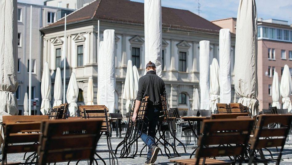 """Biergarten in Augsburg:""""Ehrlich und redlich sieht anders aus"""""""