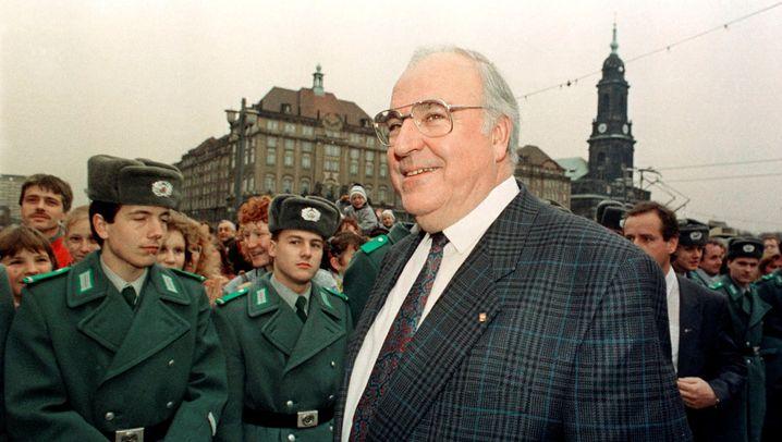 Helmut Kohl: In Leipzig gefeiert, in Halle beeiert