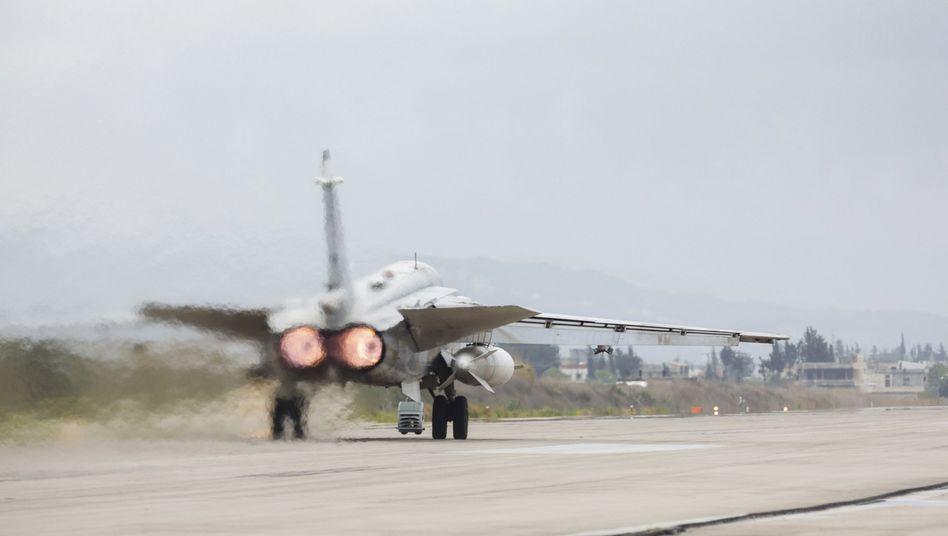 Russischer Bomber