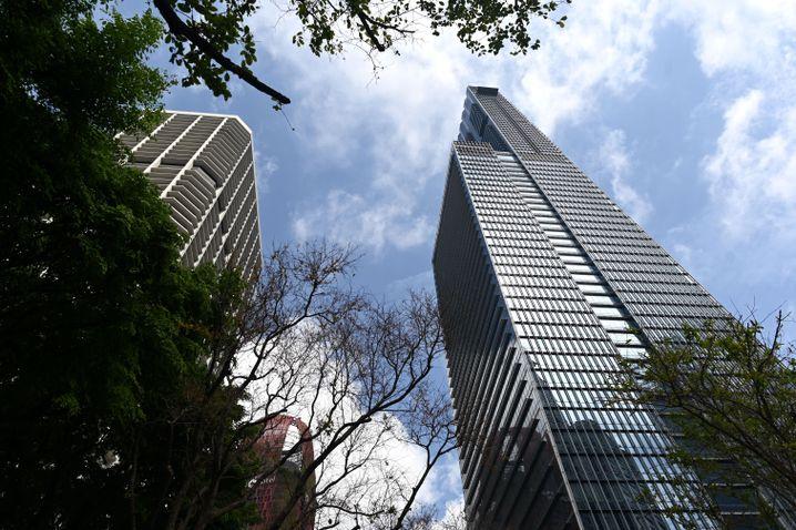Trautes Heim - Glück allein? In diesem Wolkenkratzer in Singapur hat Dyson ein Penthouse gekauft.