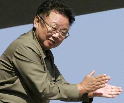 Kim Jong Il likes festivals in his honor as much as anyone.