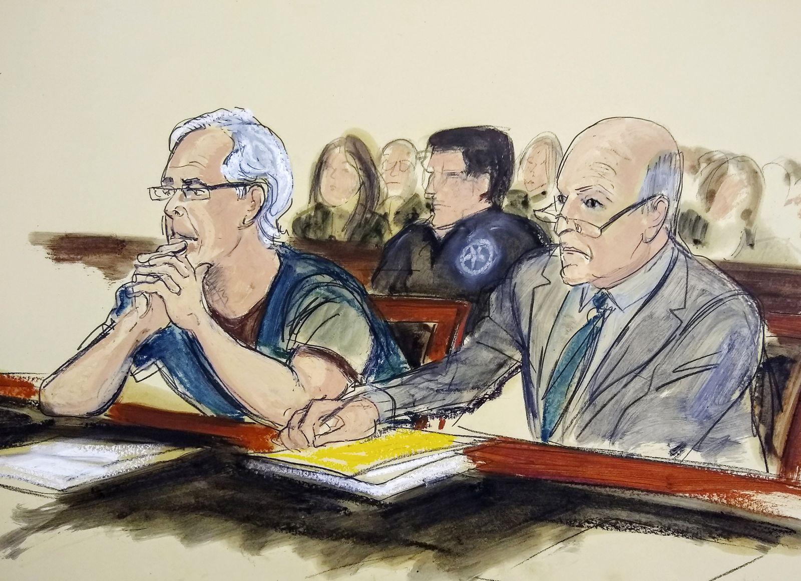 Epstein Gerichtszeichnung