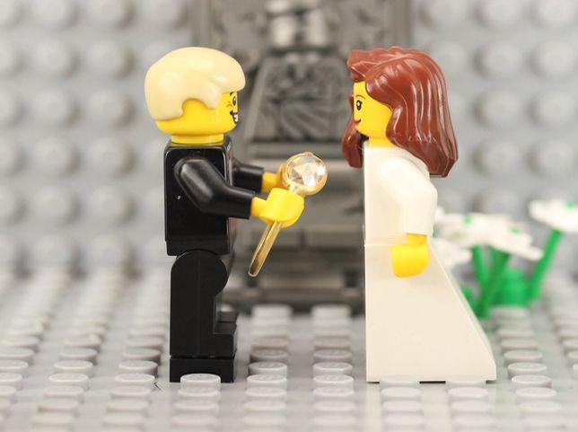 EINMALIGE VERWENDUNG Vimeo LEGO Hochzeit