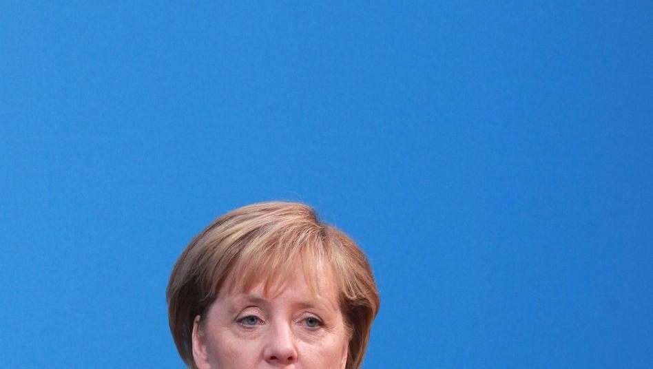 """Kanzlerin Merkel: """"Das kann sich jeder anschauen"""""""